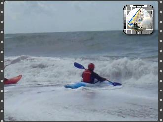 Thumbnail for Kayak Surfing at BSC.